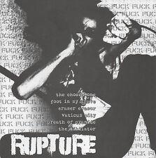 "Brutal Truth / Rupture 7"" lp - new copy - Hardcore - Punk - Grindcore"