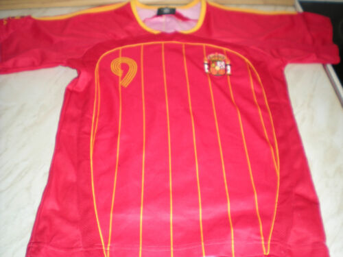 A Short Sleeved Childs Spanish Shirt Number 9 TORRES Sized T10