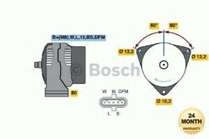 BOSCH New ALTERNATOR for MERCEDES BENZ ACTROS MP2 / MP3 2541, L, LL 2003->on