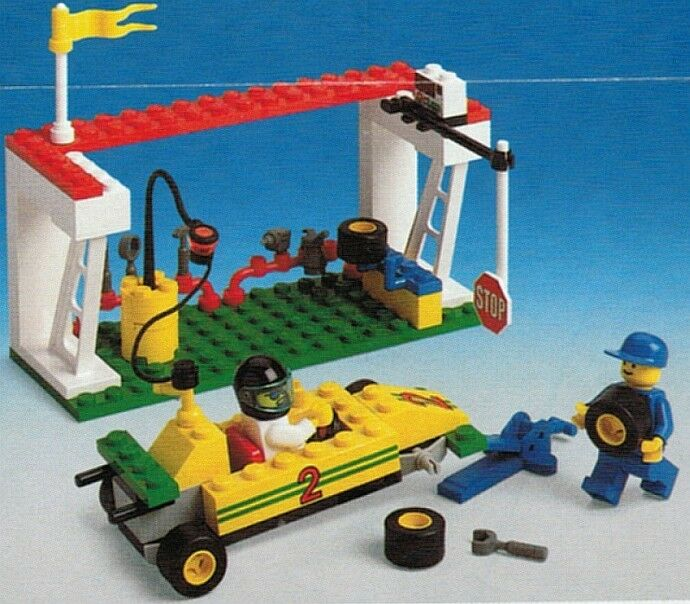 Lego Town 6467 Power Pitstop SEALED HTF
