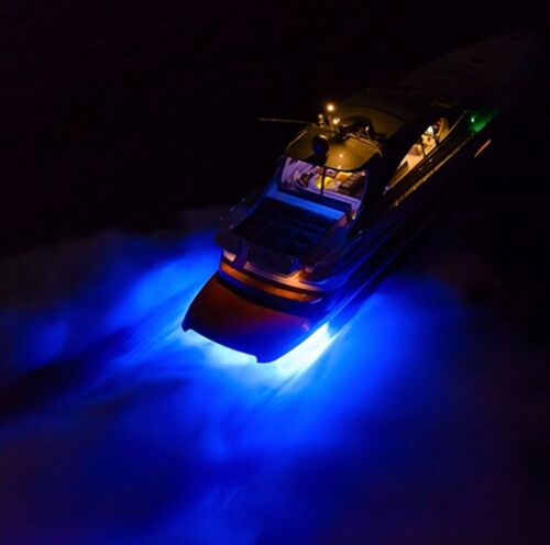 Marine Boat Yacht Fishing Lamp Underwater Light Blue LED Floodlight
