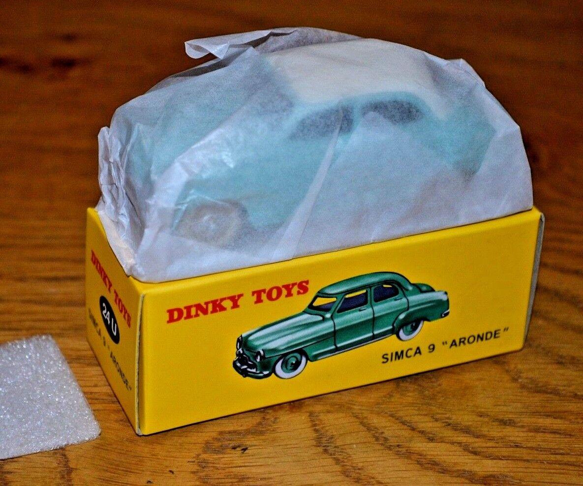 2013 French Dinky Toys Atlas Edition Edition Edition Diecast No. 24U Simca 9 Ardone 1db00e