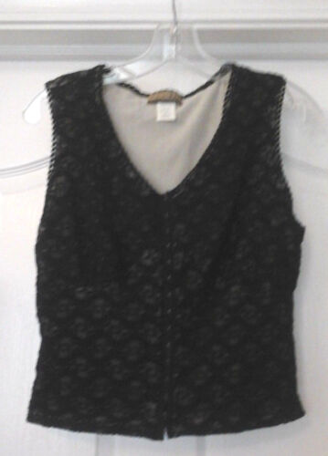 WOMANS CREATIVE DESIGN WORKS LACE CAMI HOOK FRONT