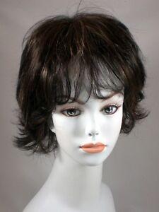 Brown-Auburn-Short-Wavy-Hair-Wigs-w-layers-flips