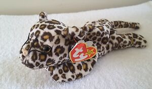 Vntg TY Beanie Baby - 1996 FRECKLES The Leopard Orig Tag Style 4066 ... 45358fa221c0
