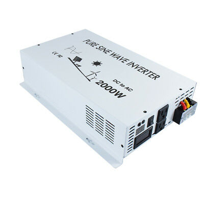 2000w Pure Sine Wave Power Inverter 48v Dc To 120v/220v Ac Off Grid Solar System To Have A Unique National Style Alternative & Solar Energy Home & Garden