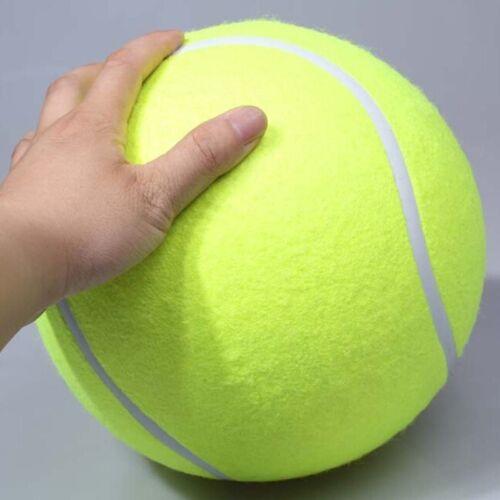 Riesen Tennisball Hundespielzeug Hund MEGA JUMBO Spaß_9.4/24CM Spielzeug für draußen
