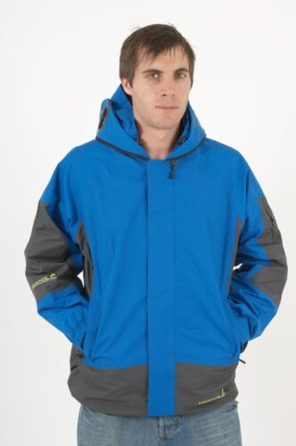 New Mens Location Goggle Rain Hooded Jacket Technical Waterproof Winter Coat