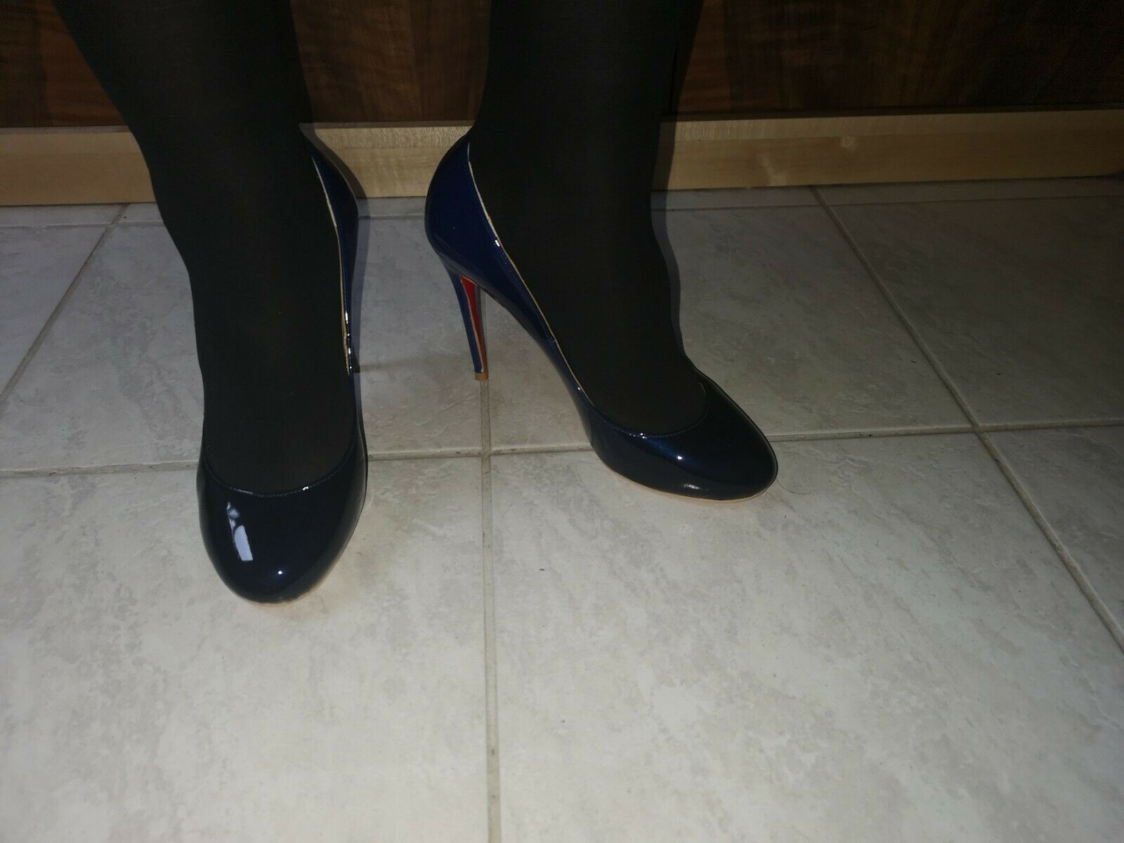 Caitlin Pan High Heels Rote Sohle