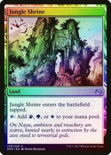 Jungle Shrine FOIL Modern Masters 2017 NM Land Uncommon MAGIC CARD ABUGames