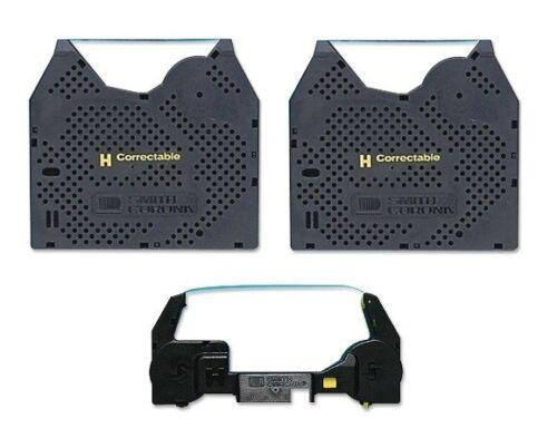 Smith Corona XL2500 2PK Ribbon and 1PK Correction Tape Cassette + Free Shipping