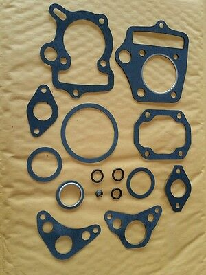 HONDA C70 CL70 CT70 SL70 XL70 ATC70 S65 TOP END GASKET AND SEAL. 93-BLACK