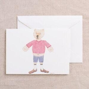 Bumble Bear Drawing Art Card Greeting Card Blank Note Card ...