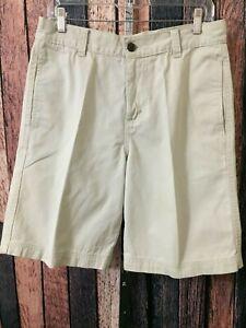 f1f82719ba Men's Chino-Style Shorts, Size 32x10 - 100% Lite Khaki Cotton ...
