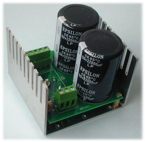 63Vdc 30A Rectifier Module Bridge Diode 63V 15000uF x2 Capacitors p//n DC-63