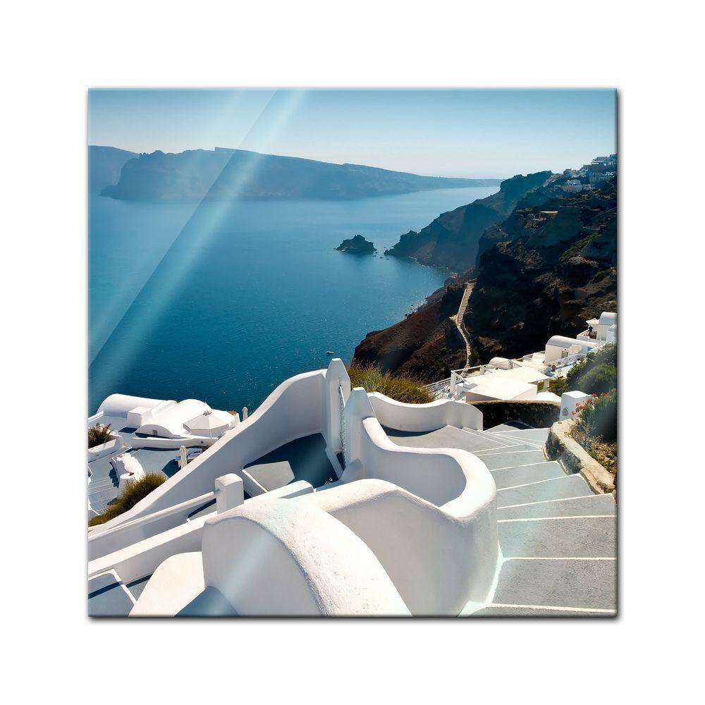 Shengshi star de brille, a ez-vous au sentiHommes t de star la clientèle Générons-Santorin escalier-Grèce a44013