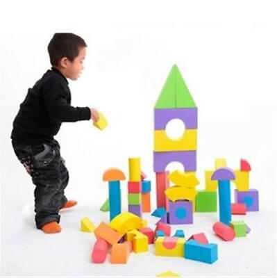 38Pcs Children Kids Play Toys Colorful Soft EVA Foam Building Blocks Bricks Y