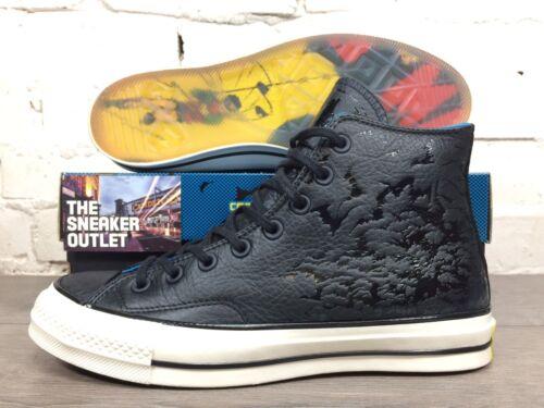 Nuovo taglia Dc ginnastica nera da Top Batman 7 scarpe Hi Pelle Uk Chuck Taylor Converse 5 rqAfPr