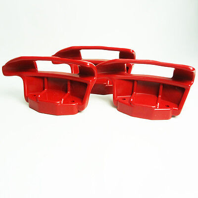 3x HUNTER Tire Changer RED Nylon Mount Demount head Duckhead 221-675-2 221-675-B