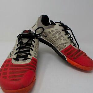 Reebok-CrossFIT-CF74-Training-Workout-Fitness-Shoes-Men-039-s-US-10-5-White-Salmon