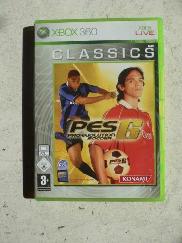 1 von 1 - Pro Evolution Soccer 6 -- Classics (Microsoft Xbox 360, 2007, DVD-Box) - Fußball