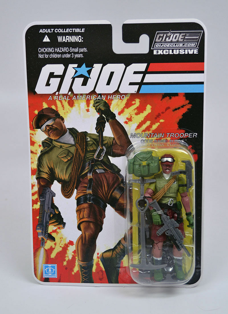 G.I. Joe Club Exclusif FSS 4.0  Alpine-Mountain trooper