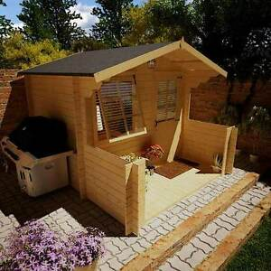 wooden garden shed home office. Image Is Loading Outdoor-Wooden-Summer-Garden-House-Work-Home-Office- Wooden Garden Shed Home Office