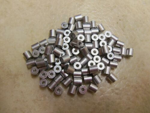 300 Pack 300 5//64 Aluminum Cable Stops Traps Trapping Snares