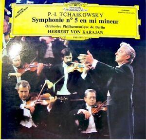 KARAJAN-ORCH-BERLIN-symphonie-5-TCHAIKOWSKY-LP-1976