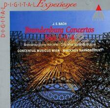 Bach Brandenburgische Konzerte 1, 2 & 4 Nikolaus Harnoncourt und Concentus music