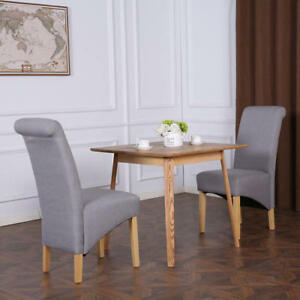 Cambridge Fabric Linen Dining Chairs