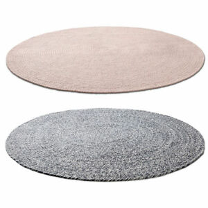 Image Is Loading Braided Floor Rug Blue Pink Mat Carpet Home