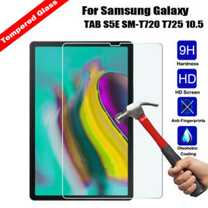 """For Samsung Galaxy Tab S5e 10.5/"""" SM-T720//T725 Tempered Glass Screen Protector"""