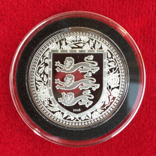 2018 GIBRALTAR ROYAL ARMS of England 1 OZ Silver Coin