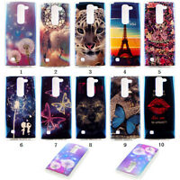Colorful Soft TPU Rubber Gel Silicone Back Case Cover For LG Bright Phone Case