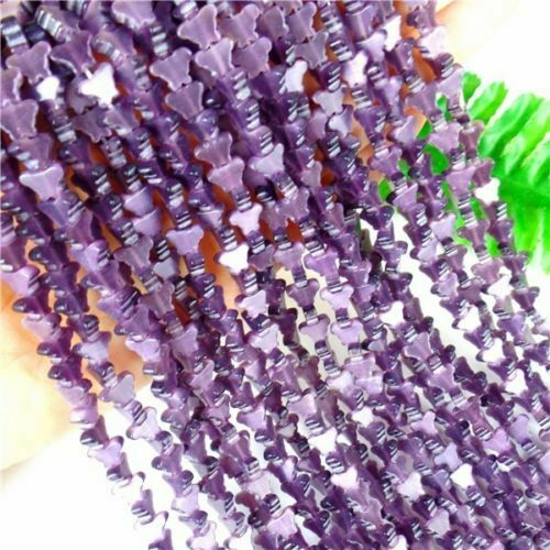 1Strand Of Cat Eye Gemstone Mini Butterfly Loose Bead 8*6*3mm//15.5inch B9971