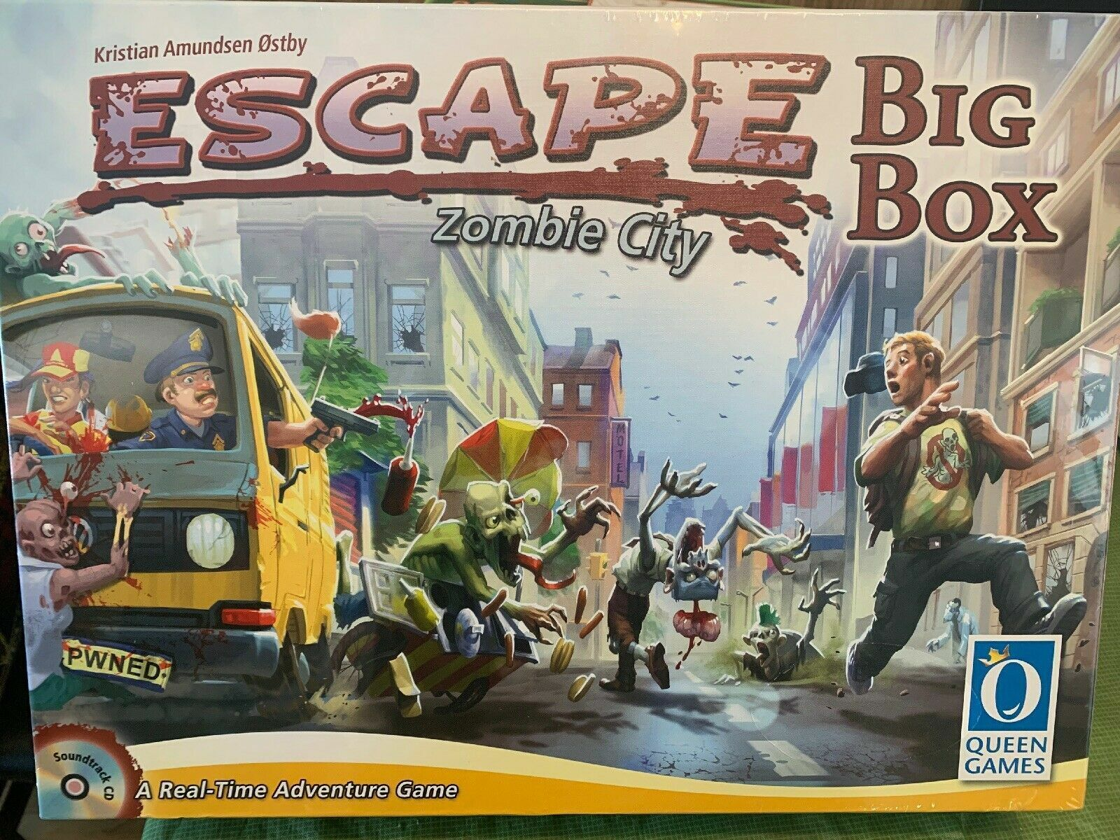 Escape Zombie Big Box Board Juego - NEW SEALED