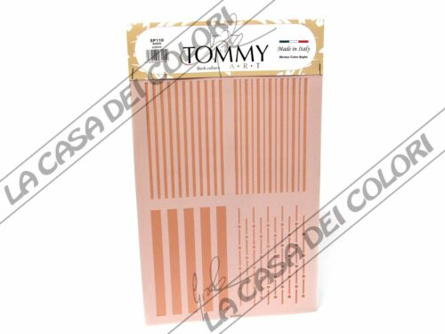 STRIPES RIGHE TOMMY ART STENCIL  21x30cm SP110