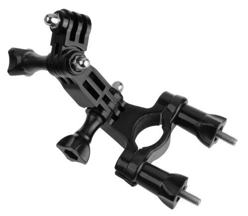 3-way 3-vías pivot brazo soporte de manillar f Rollei Actioncam 415
