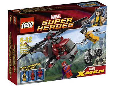 NEW LEGO MARVEL SUPER HEROES 6866 WOLVERINE'S CHOPPER SHOWDOWN ...