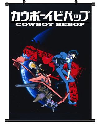 Cowboy Bebop Japan Anime Comic Movie Poster Art Fabric Hot Decor X-554