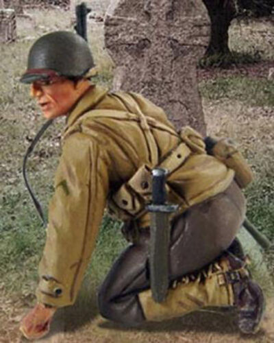 Valiant Miniatures Kit# 9641 US Infantry WWII France Summer of 1944-54mm