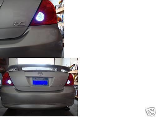 White LED Reverse Lights//Back Up For Scion tC 2005-2010 2006 2007 2008 2009