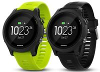Garmin Forerunner 935 Watch Or Tri-bundle Black W/ Yellow Strap 010-01746-00
