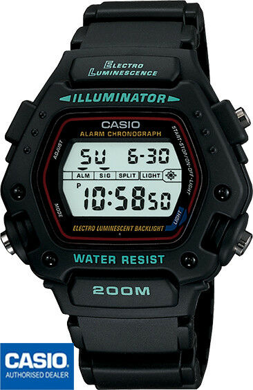 CASIO DW-290-1VSCB*DW-290-1VS*VINTAGE*MISSION IMPOSSIBLE WATCH*TOM CRUISE WATCH