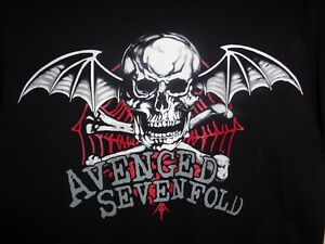 AVENGED-SEVENFOLD-T-Shirt-X-LARGE