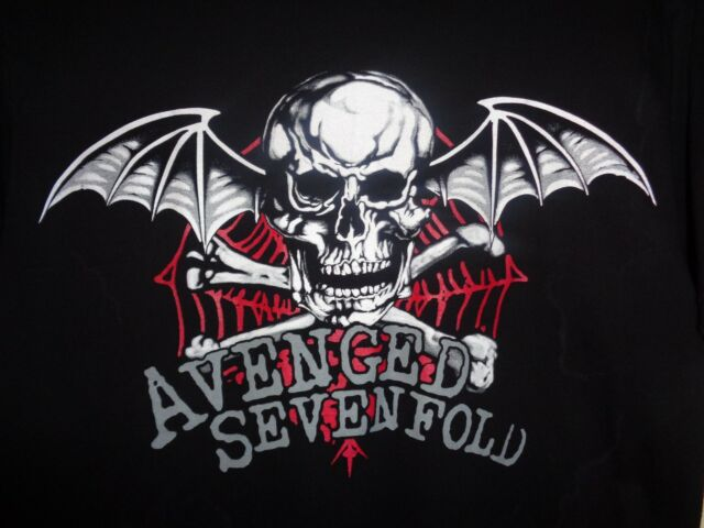 AVENGED SEVENFOLD  T Shirt  X-LARGE
