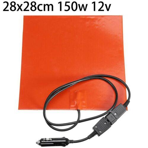 12V 150W Silicone Heating Pad Flexibel Heizung Matte Pizza Hot Essen Lieferung