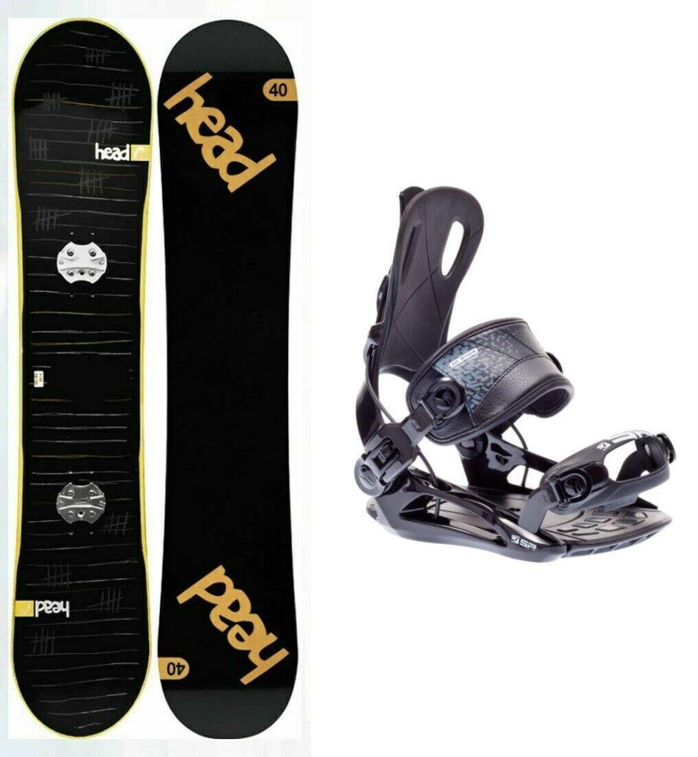 HEAD Rocka 4D JR 140 Kinder Snowboard mit SP Fastec Bindung & Framewall Schutz
