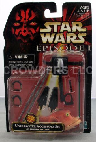 Star Wars Episode 1 Accessory Sets Underwater Tatooine /& Naboo Hasbro /'98 NIP
